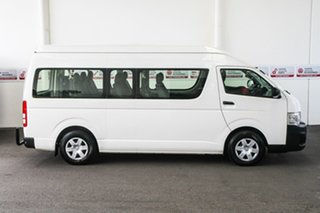 2012 Toyota HiAce KDH223R MY12 Upgrade Commuter French Vanilla 4 Speed Automatic Bus