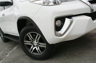 2017 Toyota Fortuner GUN156R MY18 GXL Glacier White 6 Speed Automatic Wagon.