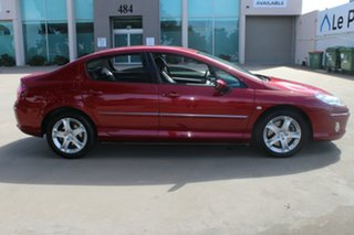2006 Peugeot 407 MY06 Upgrade SV HDi Burgundy 6 Speed Tiptronic Coupe