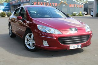 2006 Peugeot 407 MY06 Upgrade SV HDi Burgundy 6 Speed Tiptronic Sedan
