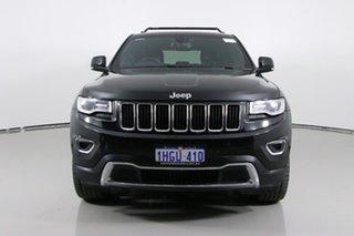 2014 Jeep Grand Cherokee WK MY14 Limited (4x4) Black 8 Speed Automatic Wagon.