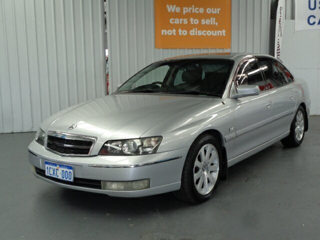 Used Holden Caprice WH II Rockingham, 2003 Holden Caprice WH II Silver 4 Speed Automatic Sedan