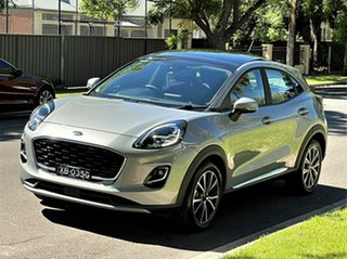 2020 Ford Puma JK 2020.75MY Puma Solar Silver/ 7 Speed Sports Automatic Dual Clutch Wagon.