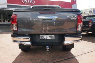 2016 Toyota Hilux GUN126R SR5 (4x4) Grey 6 Speed Automatic Dual Cab Utility