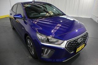2020 Hyundai Ioniq AE.3 MY20 Hybrid Elite Blue 6 Speed Auto Dual Clutch Hatchback.
