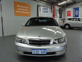 2003 Holden Caprice WH II Silver 4 Speed Automatic Sedan.