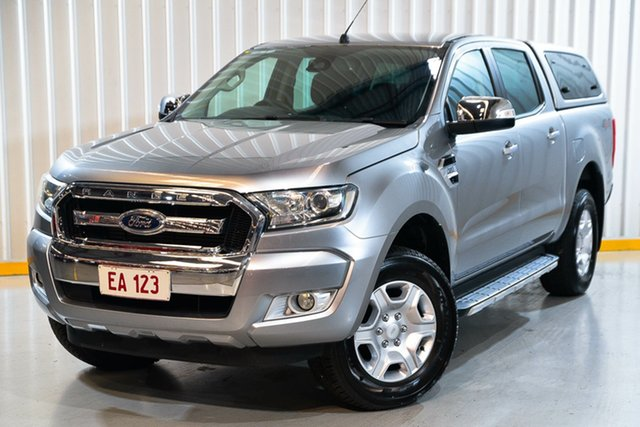Used Ford Ranger PX MkII XLT Double Cab Hendra, 2016 Ford Ranger PX MkII XLT Double Cab Silver 6 Speed Sports Automatic Utility