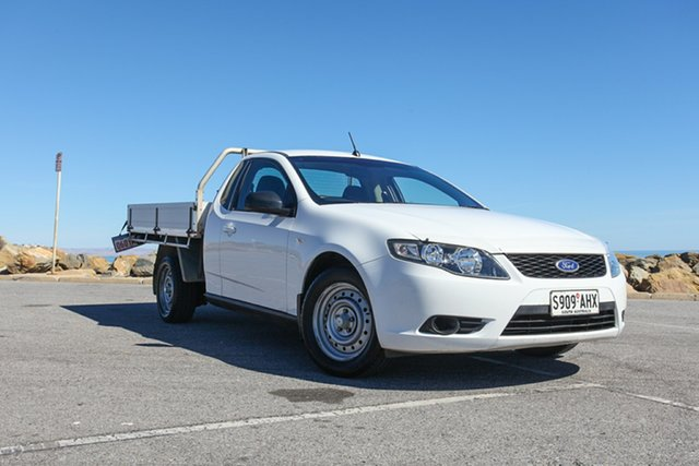 Used Ford Falcon FG Super Cab Lonsdale, 2010 Ford Falcon FG Super Cab White 4 Speed Automatic Cab Chassis