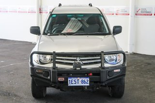 2015 Mitsubishi Triton MN MY15 GLX (4x4) 5 Speed Manual 4x4 Double Cab Utility.