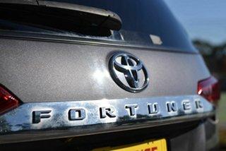 2018 Toyota Fortuner GUN156R GXL Grey 6 Speed Automatic Wagon