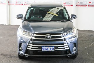 2019 Toyota Kluger GSU50R GXL 2WD Cosmos Blue 8 Speed Sports Automatic Wagon.