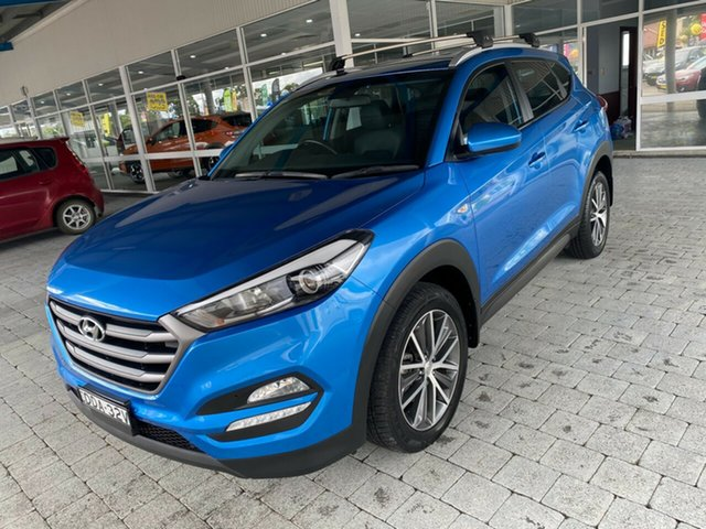 Used Hyundai Tucson Active X Taree, 2015 Hyundai Tucson Active X Blue Sports Automatic Wagon