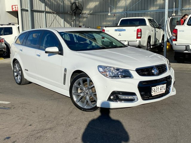 Used Holden Commodore VF MY14 SS V Sportwagon Hillcrest, 2013 Holden Commodore VF MY14 SS V Sportwagon White 6 Speed Sports Automatic Wagon