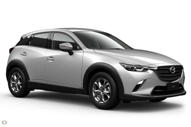 New Mazda CX-3 DK2W7A Maxx SKYACTIV-Drive FWD Sport Waitara, 2021 Mazda CX-3 DK2W7A Maxx SKYACTIV-Drive FWD Sport White 6 Speed Sports Automatic Wagon