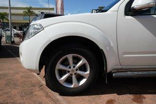 2012 Nissan Navara D40 MY12 ST (4x2) White 6 Speed Manual Dual Cab Pick-up.