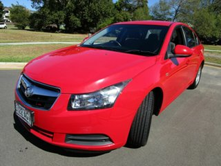 2010 Holden Cruze JG CD Red 6 Speed Automatic Sedan