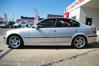 2004 BMW 318i E46 Executive Silver 5 Speed Auto Steptronic Sedan