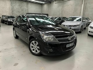 2008 Holden Astra AH MY08 CD Black 5 Speed Manual Hatchback.