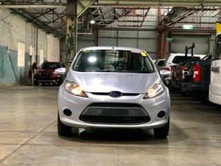 2011 Ford Fiesta WT LX PwrShift Silver 6 Speed Sports Automatic Dual Clutch Hatchback.