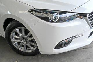 2018 Mazda 3 BN5276 Maxx SKYACTIV-MT Sport White 6 Speed Manual Sedan.