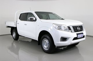 2017 Nissan Navara D23 Series II RX (4x4) White 7 Speed Automatic Double Cab Chassis.