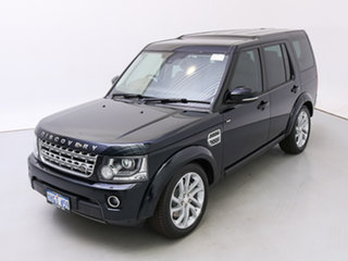 2014 Land Rover Discovery MY14 3.0 SDV6 HSE Mariana Black Pearl 8 Speed Automatic Wagon