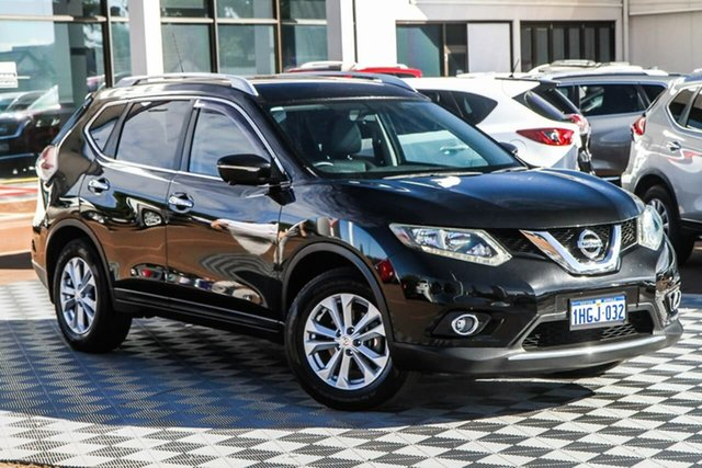 Used Nissan X-Trail T32 ST-L X-tronic 4WD Attadale, 2014 Nissan X-Trail T32 ST-L X-tronic 4WD Black 7 Speed Constant Variable Wagon