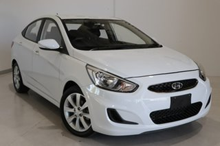 2017 Hyundai Accent RB5 MY17 Sport White 6 Speed Sports Automatic Sedan.