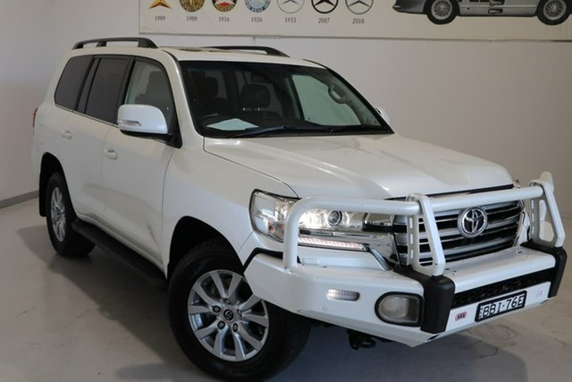 Used Toyota Landcruiser VDJ200R VX Wagga Wagga, 2019 Toyota Landcruiser VDJ200R VX White 6 Speed Sports Automatic Wagon