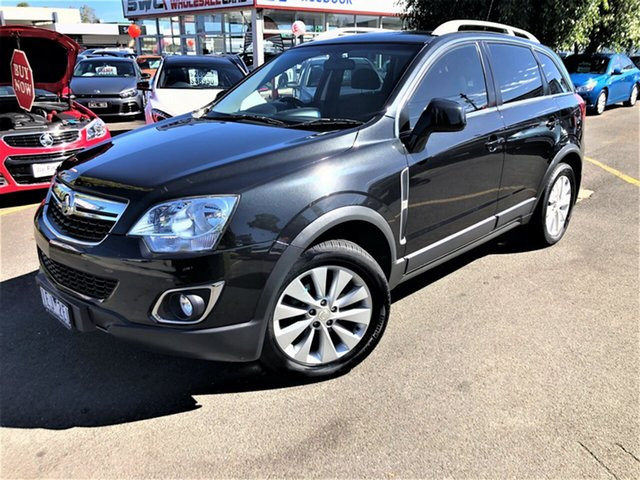 Used Holden Captiva CG MY15 5 AWD LT Seaford, 2015 Holden Captiva CG MY15 5 AWD LT Black 6 Speed Sports Automatic Wagon