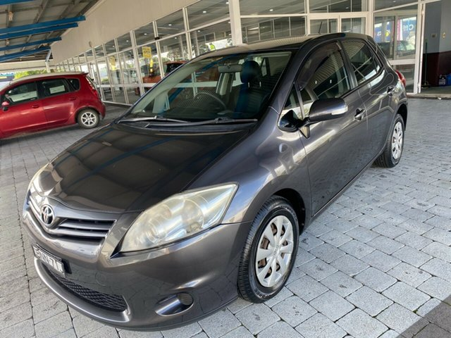 Used Toyota Corolla Ascent Taree, 2010 Toyota Corolla Ascent Grey Automatic Hatchback