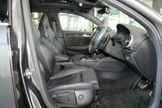 2015 Audi RS 3 8V MY16 Sportback S Tronic Quattro Grey 7 Speed Sports Automatic Dual Clutch.