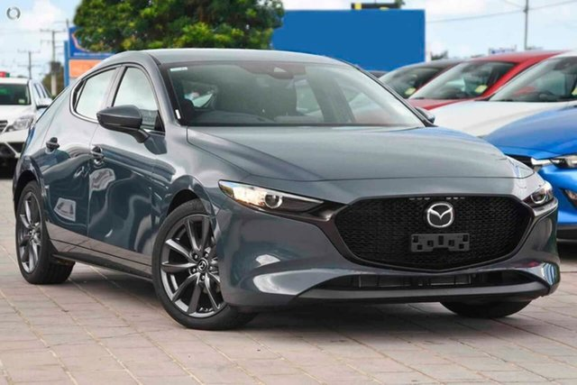 New Mazda 3 BP2H7A G20 SKYACTIV-Drive Touring Waitara, 2021 Mazda 3 BP2H7A G20 SKYACTIV-Drive Touring Grey 6 Speed Sports Automatic Hatchback