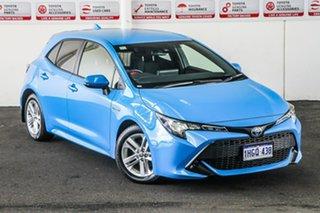 2020 Toyota Corolla ZWE211R Ascent Sport E-CVT Hybrid Eclectic Blue 10 Speed Constant Variable.