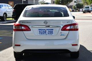 2015 Nissan Pulsar B17 Series 2 ST White 1 Speed Constant Variable Sedan