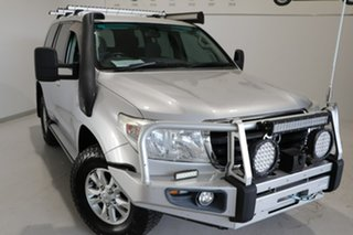 2010 Toyota Landcruiser VDJ200R MY10 GXL Silver 6 Speed Sports Automatic Wagon.