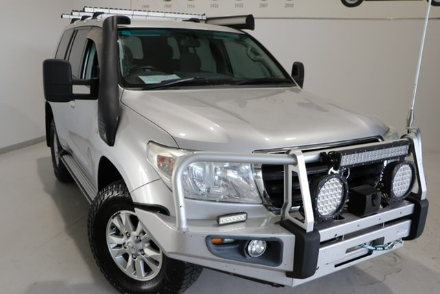 Used Toyota Landcruiser VDJ200R MY10 GXL Wagga Wagga, 2010 Toyota Landcruiser VDJ200R MY10 GXL Silver 6 Speed Sports Automatic Wagon