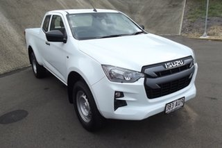 2020 Isuzu D-MAX RG MY21 SX Space Cab 4x2 High Ride White 6 Speed Sports Automatic Utility.