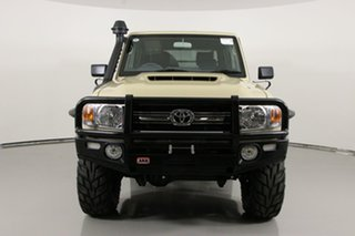 2020 Toyota Landcruiser VDJ79R GXL (4x4) Sandy Taupe 5 Speed Manual Double Cab Chassis.