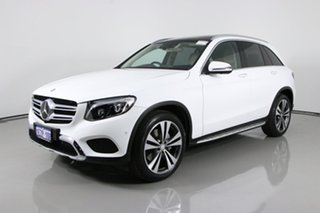 2016 Mercedes-Benz GLC250 253 White 9 Speed Automatic Wagon.