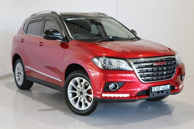Used Haval H2 Premium 2WD Wagga Wagga, 2018 Haval H2 Premium 2WD Red 6 Speed Sports Automatic Wagon