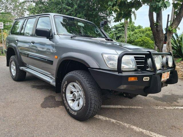 Used Nissan Patrol GU III MY2003 ST Stuart Park, 2003 Nissan Patrol GU III MY2003 ST Grey 4 Speed Automatic Wagon