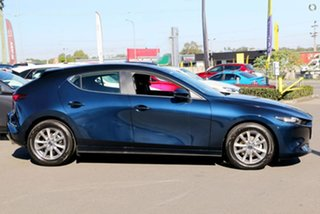 2021 Mazda 3 BP2H7A G20 SKYACTIV-Drive Pure Blue 6 Speed Sports Automatic Hatchback