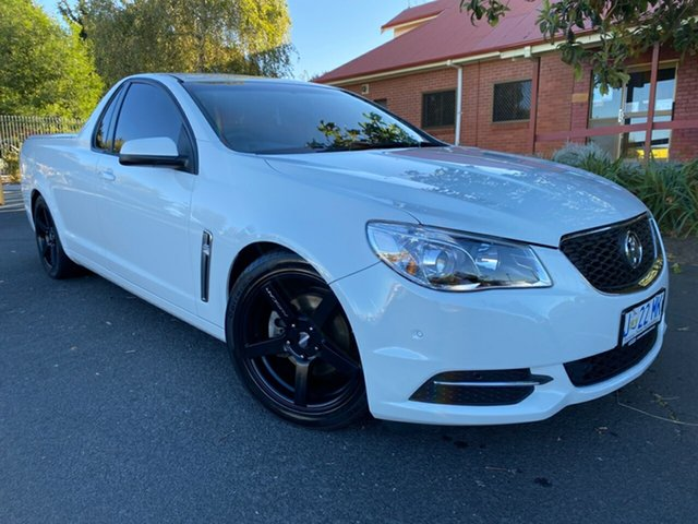 Used Holden Ute VF MY15 Ute Glenorchy, 2015 Holden Ute VF MY15 Ute Heron White 6 Speed Sports Automatic Utility