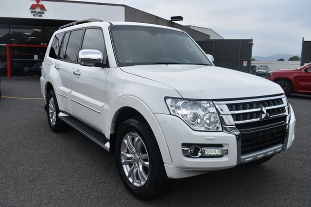Used Mitsubishi Pajero NX MY18 Exceed Wantirna South, 2018 Mitsubishi Pajero NX MY18 Exceed White 5 Speed Sports Automatic Wagon