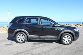 2011 Holden Captiva CG Series II 7 SX Black 6 Speed Sports Automatic Wagon.