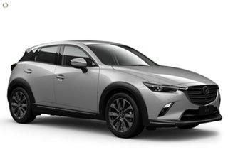2021 Mazda CX-3 DK4W7A Akari SKYACTIV-Drive i-ACTIV AWD White 6 Speed Sports Automatic Wagon