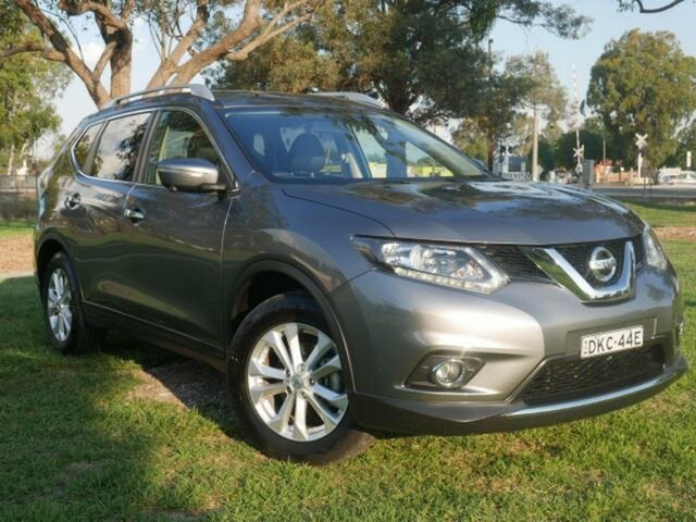 Used Nissan X-Trail T32 ST-L (FWD) Wangaratta, 2016 Nissan X-Trail T32 ST-L (FWD) Grey Continuous Variable Wagon