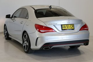 2016 Mercedes-Benz CLA-Class C117 806MY CLA250 DCT 4MATIC Sport Silver 7 Speed.