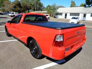 2008 Ford Falcon FG Ute Super Cab Red 4 Speed Automatic Utility
